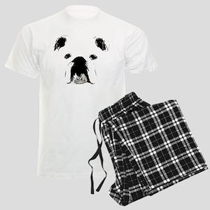 Bulldog Bacchanalia Men's Light Pajamas