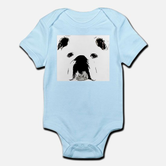 Bulldog Bacchanalia Infant Bodysuit