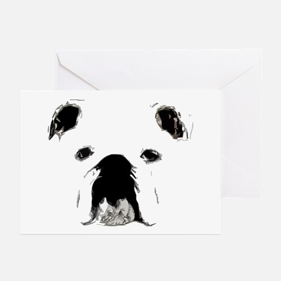 Bulldog Bacchanalia Greeting Cards (Pk of 20)