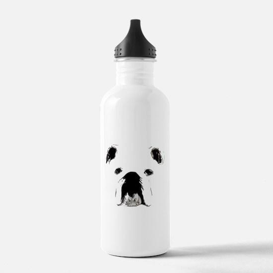 Bulldog Bacchanalia Water Bottle