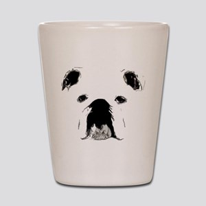 Bulldog Bacchanalia Shot Glass