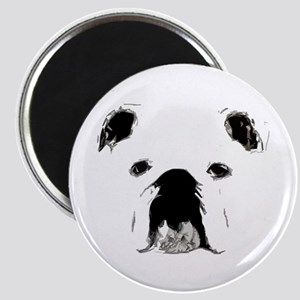 Bulldog Bacchanalia Magnet