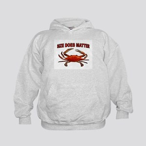 BIGGER THE BETTER Kids Hoodie