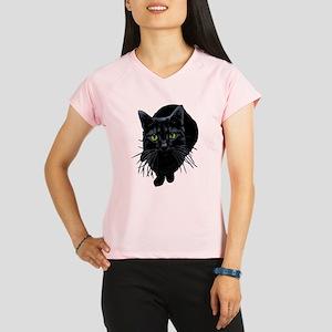 Black Cat Women's double dry short sleeve mesh shi