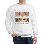 Anti-Hillary Rape Enabler Sweatshirt