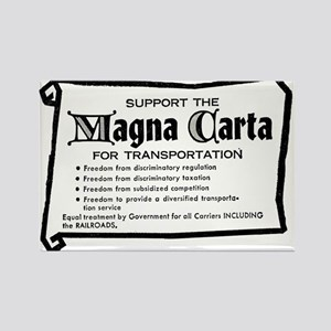 Support The Magna Carta ! Rectangle Magnet