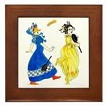 Charming regency Framed Tile