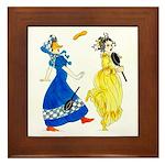 Charming regency Framed Tile
