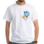 St.Earth White T-Shirt