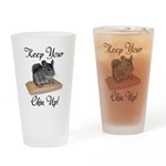 Keep Your Chin Up Pint Glass
