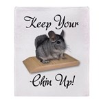 Keep Your Chin Up Throw Blanket