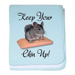 Keep Your Chin Up baby blanket