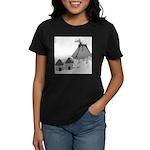 Volecano (no text) Women's Dark T-Shirt