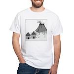 Volecano (no text) White T-Shirt