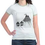 Volecano (no text) Jr. Ringer T-Shirt
