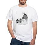 Volecano White T-Shirt