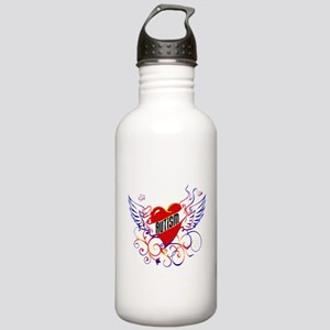 Autism Will Give You WIngs Stainless Water Bottle