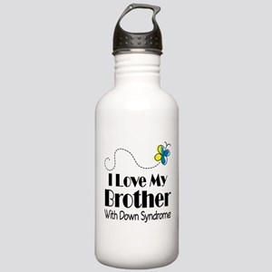Down Syndrome Brother Stainless Water Bottle 1.0L
