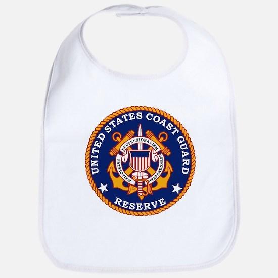 Coast Guard Reserve<BR> Baby Bib 1