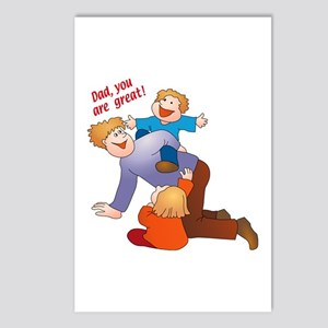 Great Dad Postcards (Package of 8)