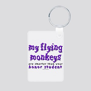 Flying Monkeys Honor (Purple) Aluminum Photo Keych