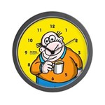 Coffee Break -Dry Bones Wall Clock