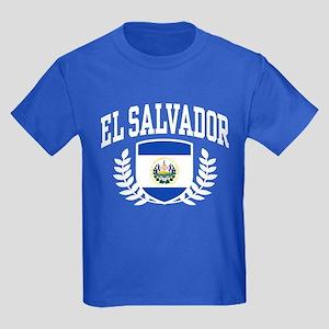 El Salvador Kids Dark T-Shirt