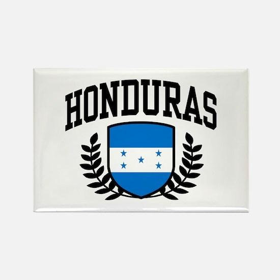 Honduras Rectangle Magnet