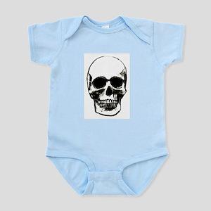 Male Skull Infant Creeper