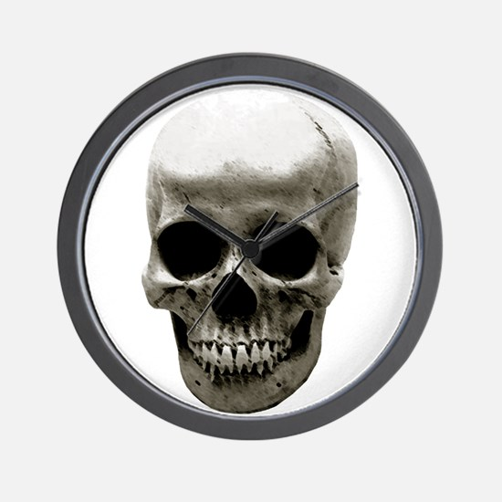 Female Skull Wall Clock
