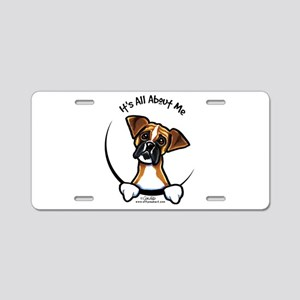 Funny Boxer Aluminum License Plate