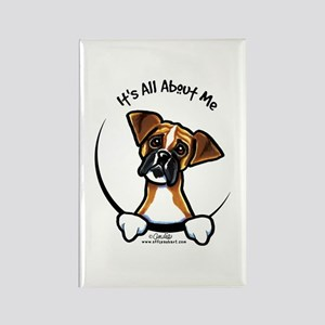 Funny Boxer Rectangle Magnet