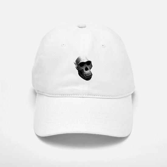 Chimpanzee Skull Baseball Baseball Cap