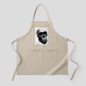 Chimpanzee Skull BBQ Apron