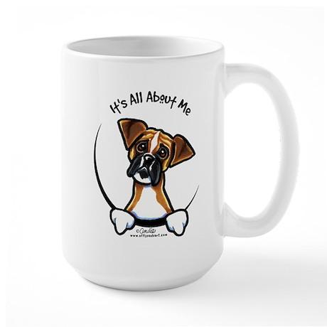 Funny Boxer Large Mug