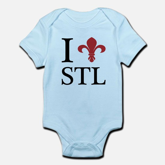 I love St. Louis Infant Bodysuit