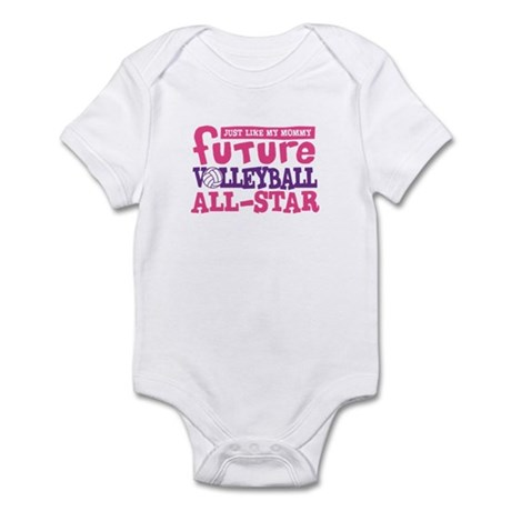 Future All Star Volleyball Girl Infant Bodysuit