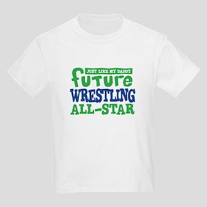 Future Wrestling All Star Boy Kids Light T-Shirt