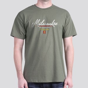 Milwaukee Script Dark T-Shirt