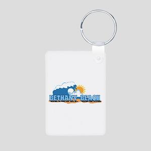 Bethany Beach DE - Waves Design Aluminum Photo Key