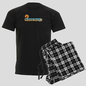Bethany Beach DE - Beach Design Men's Dark Pajamas