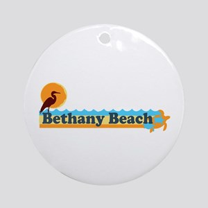 Bethany Beach DE - Beach Design Ornament (Round)
