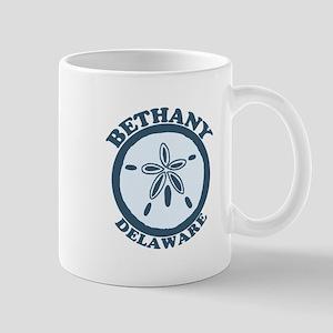 Bethany Beach DE - Sand Dollar Design Mug
