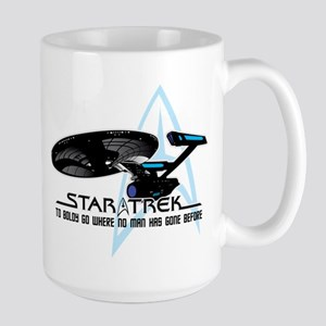 Star Trek: To Boldly Go Large Mug
