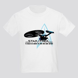 Star Trek: To Boldly Go Kids Light T-Shirt