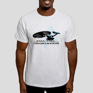 Star Trek: To Boldly Go Light T-Shirt