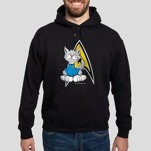 Star Trek Spock Cat Hoodie (dark)