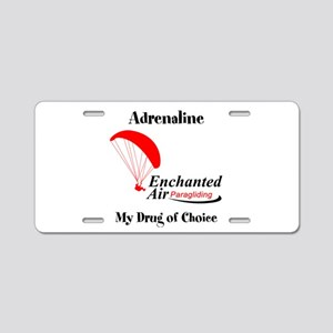 Enchanted Air Aluminum License Plate
