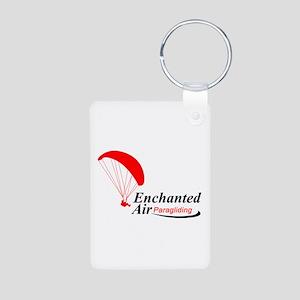 Enchanted Air Aluminum Logo Keychain