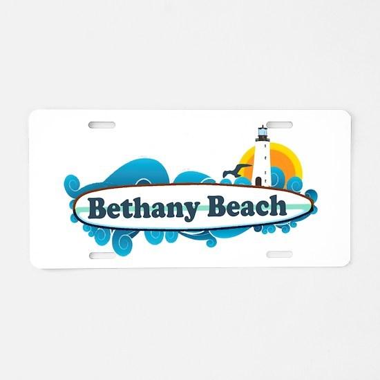 Bethany Beach DE - Surf Design. Aluminum License P